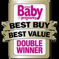 Double Winner Award Prima Baby & Pregnancy UK 2010