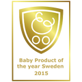 Award Baby Product of the year Sweden 2015