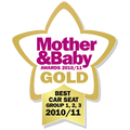 Gold Award Mother & Baby UK 2010