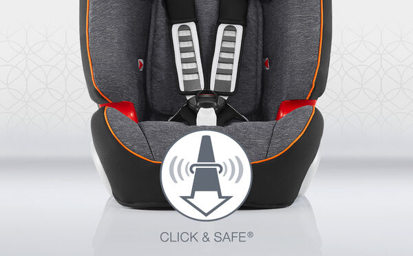 Additional safety and comfort – CLICK & SAFE® and adjustable width positions