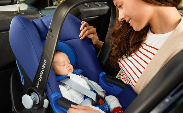 Peace of mind for your baby's first journeys