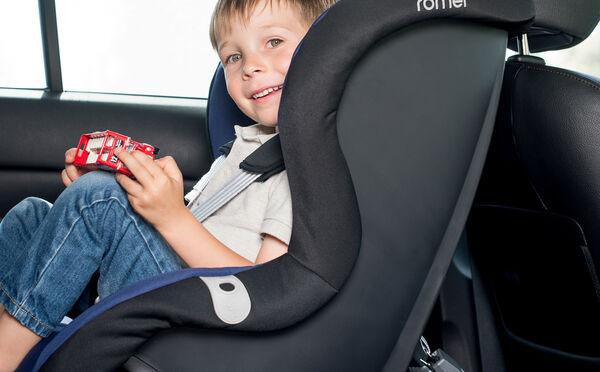 Extended rearward facing for a safer journey