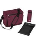 Britax Nursery Bag Wine Red Melange