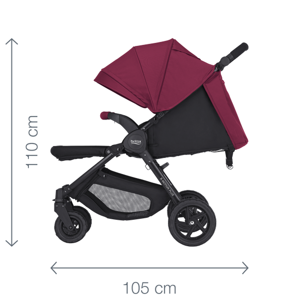 B-MOTION 4 PLUS - stroller  836462d2d5
