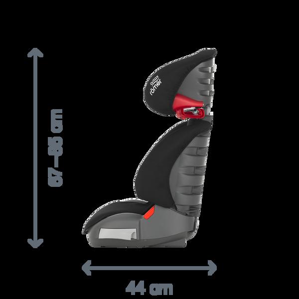 ADVENTURE Britax R/ömer seggiolino auto da 3,5 a 12 anni 15-36 Kg Storm Grey Gruppo 2//3